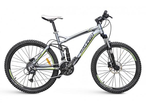 "Bicicleta Talus 26"" FS Doble Suspensión - Gris"