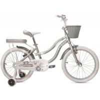 Bicicleta Bellisima 20- Plata - niñas 5 a 8 años