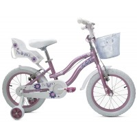 Bicicleta Bellisima 16 Rosada - niñas 3 a 5 años