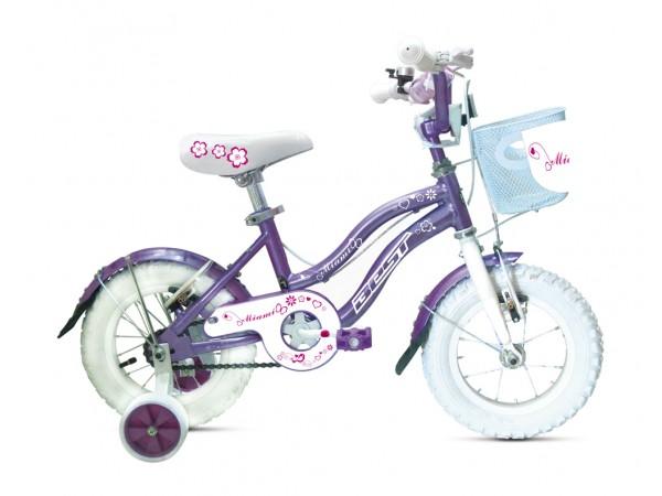 Bicicleta Miami 12 - niñas 3 a 4 años - Lila