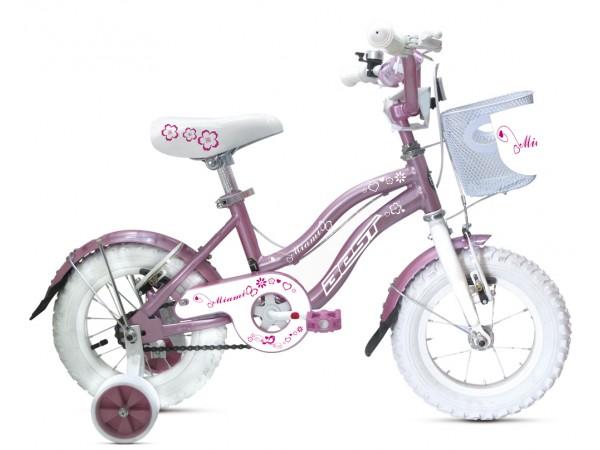 Bicicleta Miami 12 - niñas 3 a 4 años - Rosada