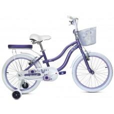 Bicicleta Bellisima 20- niñas 5 a 8 años - Morada