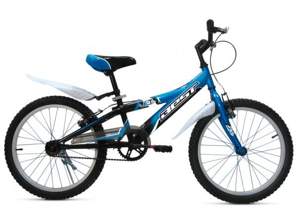 Bicicleta JET 20 - azul-negro - niños 5 a 8 años