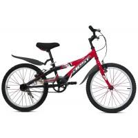 Bicicleta JET 20 - rojo-negro - niños 6 a 8 años