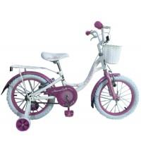 Bicicleta Miami 16- Blanco-Rosada - niñas 4 a 6 años