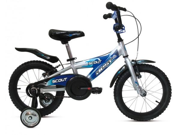 """Bicicleta Scout 16"""" Azul - niños 3 a 5 años"""