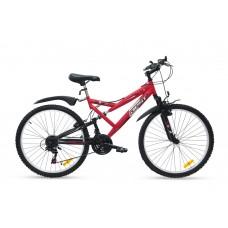 """Bicicleta Montañera SPORT 26"""" Rojo"""