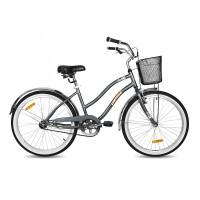 """Bicicleta Sun Cruiser 24"""" Gris"""