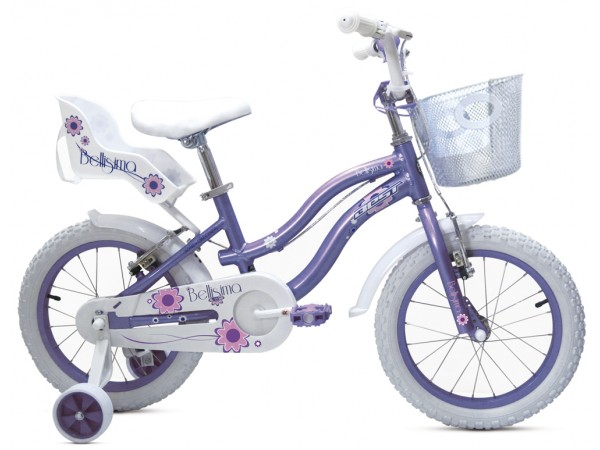 Bicicleta Bellisima 16 Lila - niñas 3 a 5 años