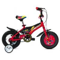 Bicicleta JET 12 - niños 3 a 4 años - Rojo