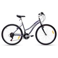 "Bicicleta Paris 26"" Gris Lila"